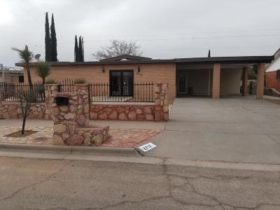 El Paso Single Family Home For Sale: 2717 Doug Ford Drive