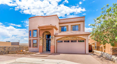 El Paso Single Family Home For Sale: 3105 Rustic River Place
