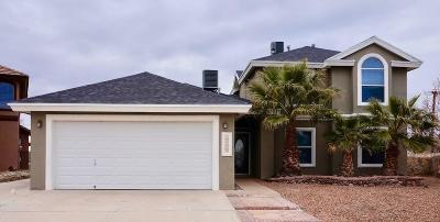 Horizon City Single Family Home For Sale: 14017 Cliff Rose Court