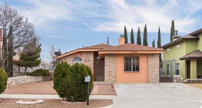 El Paso Single Family Home For Sale: 11370 Long John Drive