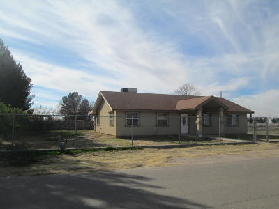 Socorro Single Family Home For Sale: 11314 Mentone Drive