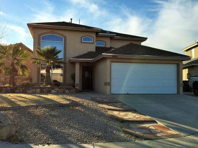 El Paso Single Family Home For Sale: 14145 Robert Ituarte Drive