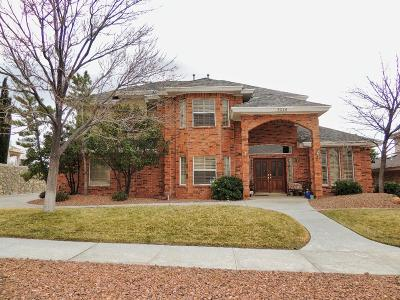 El Paso Single Family Home For Sale: 6540 Majestic Ridge Drive