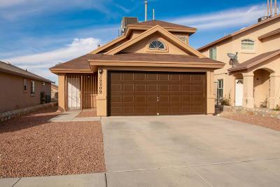 El Paso Single Family Home For Sale: 12309 Tierra Canada Drive