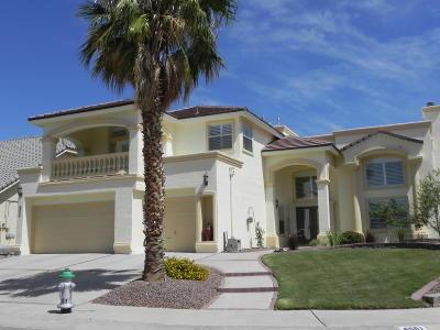 El Paso Single Family Home For Sale: 6501 Calle Bonita Lane