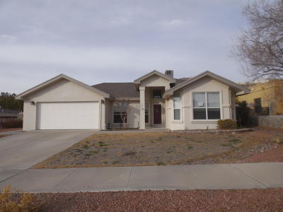 El Paso Single Family Home For Sale: 6609 Wind Ridge Drive