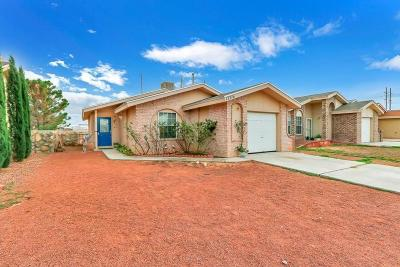 El Paso Single Family Home For Sale: 12716 Lorenzo Ponce Drive