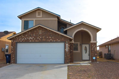 El Paso Single Family Home For Sale: 14424 Spanish Point