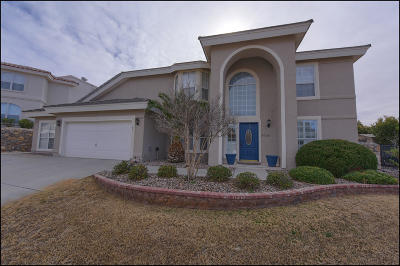 El Paso Single Family Home For Sale: 1116 Eagle Ridge Drive