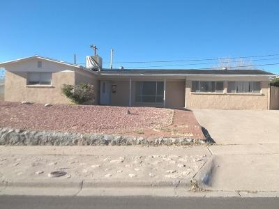 El Paso Single Family Home For Sale: 6213 Heath Way