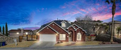 El Paso Single Family Home For Sale: 6617 El Poste Court