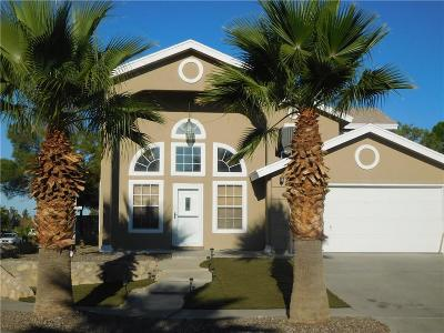 El Paso Single Family Home For Sale: 3121 Royal Crest Street