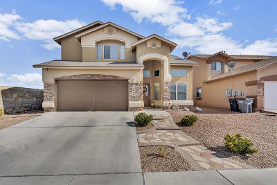 El Paso Single Family Home For Sale: 14444 Navajo Point Drive