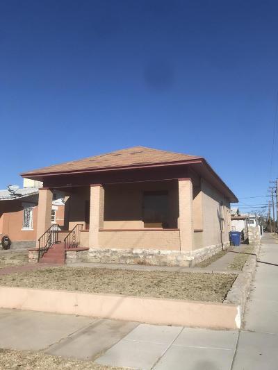 Single Family Home For Sale: 3625 La Luz Avenue