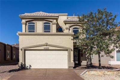 El Paso Single Family Home For Sale: 14383 Early Morn Avenue