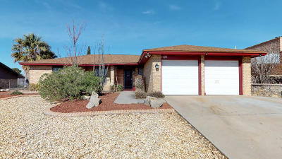 El Paso Single Family Home For Sale: 7105 El Cajon Drive