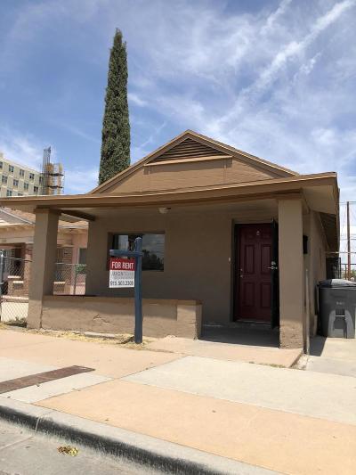 El Paso Multi Family Home For Sale: 1305 E San Antonio Avenue #A&B