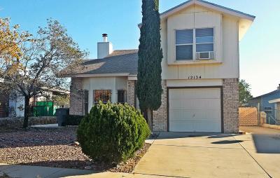 El Paso Single Family Home For Sale: 12134 El Greco Circle
