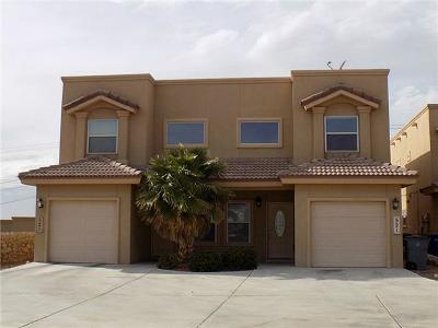 El Paso Single Family Home For Sale: 521 Green Village Court #B