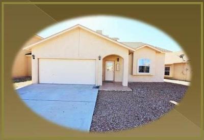 El Paso Single Family Home For Sale: 12716 Tierra Monje Lane