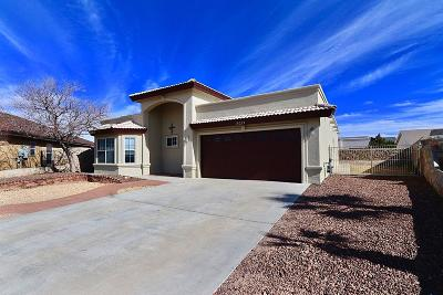 Horizon City Single Family Home For Sale: 14212 Desert Yucca Place