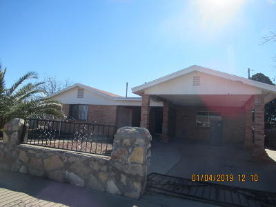 El Paso Single Family Home For Sale: 5828 Bagdad Way