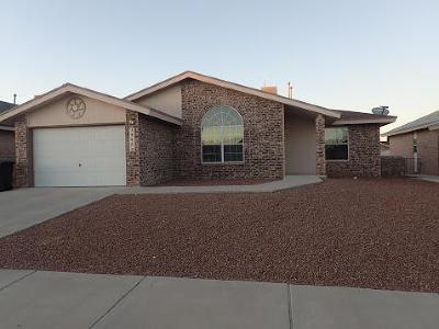 Horizon City Single Family Home For Sale: 14453 Desierto Bueno Avenue
