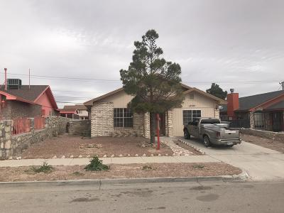 El Paso Single Family Home For Sale: 12525 Martin Bauman Drive