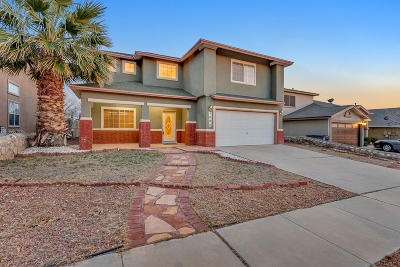 El Paso Single Family Home For Sale: 7084 Luz De Espejo Drive