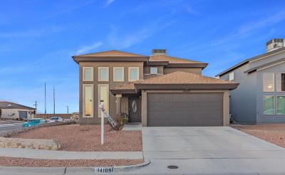 El Paso Single Family Home For Sale: 14185 Greg Allen