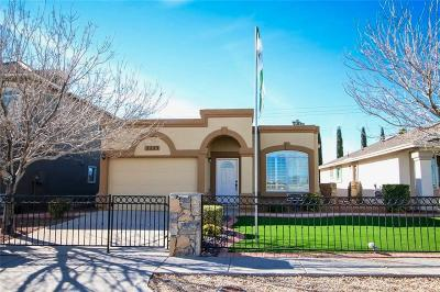 Socorro Single Family Home For Sale: 11644 Flor Achillea