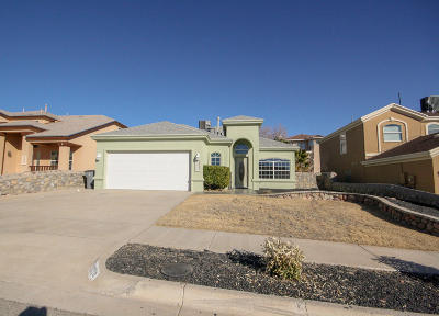 El Paso Single Family Home For Sale: 1504 Deer Ridge Ridge