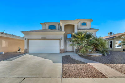 El Paso Single Family Home For Sale: 2317 Honey Comb Place