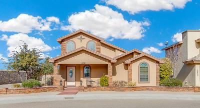 El Paso Single Family Home For Sale: 12861 Hueco Cave Drive