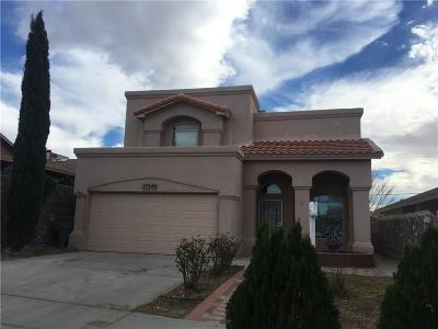El Paso Single Family Home For Sale: 12248 Via Azteca Drive
