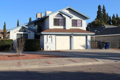 El Paso TX Single Family Home For Sale: $165,000