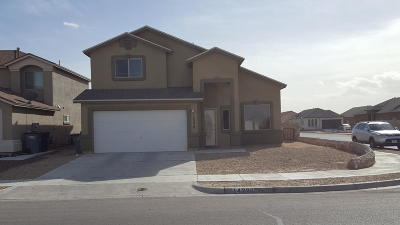 El Paso Single Family Home For Sale: 14226 Earl Chokiski