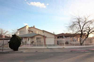 El Paso TX Single Family Home For Sale: $128,000
