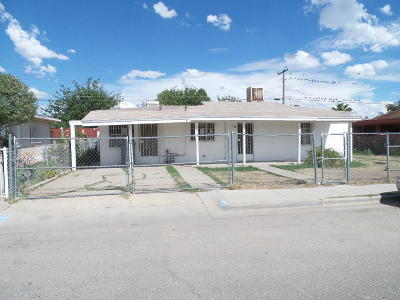 El Paso TX Single Family Home For Sale: $49,000