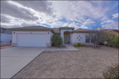 Anthony Single Family Home For Sale: 3078 Bariloche Drive