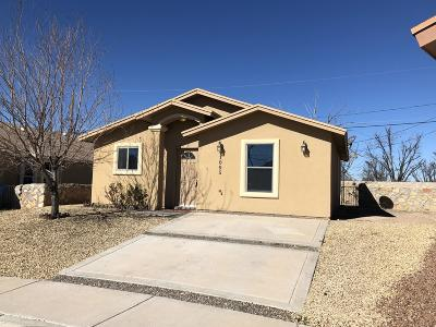 San Elizario Single Family Home For Sale: 1005 Oscar Chacon
