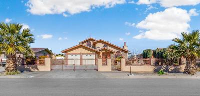 El Paso Single Family Home For Sale: 9351 Chantilly Drive