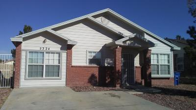 El Paso TX Single Family Home For Sale: $97,950