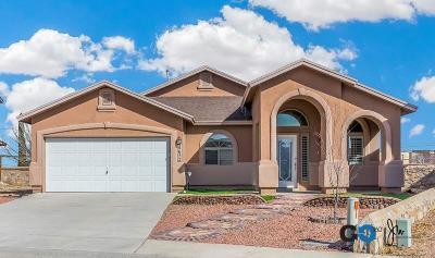 El Paso TX Single Family Home For Sale: $189,950