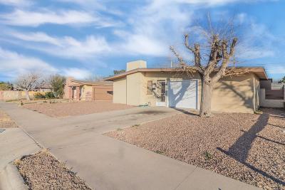 El Paso TX Single Family Home For Sale: $119,900