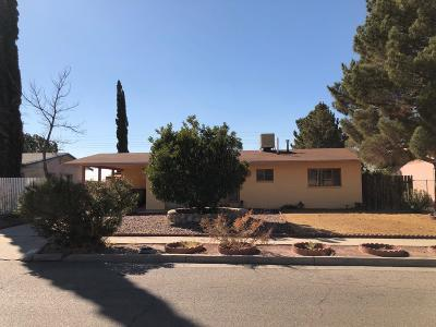 El Paso Single Family Home For Sale: 7412 Alpine Drive