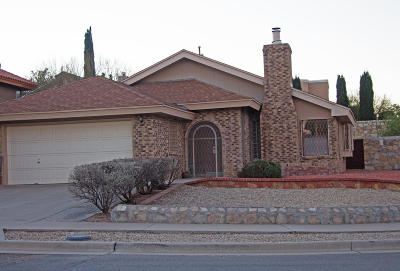 Vista Hills Single Family Home For Sale: 2041 Ralph Janes Place