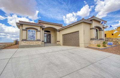 Single Family Home For Sale: 7427 Mule Team Drive
