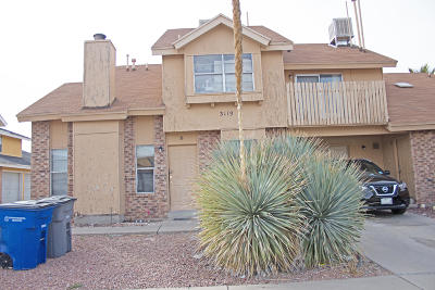 El Paso Multi Family Home For Sale: 3119 Voss Drive
