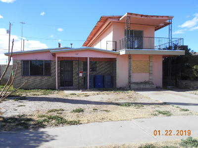 El Paso Single Family Home For Sale: 621 Medina Street